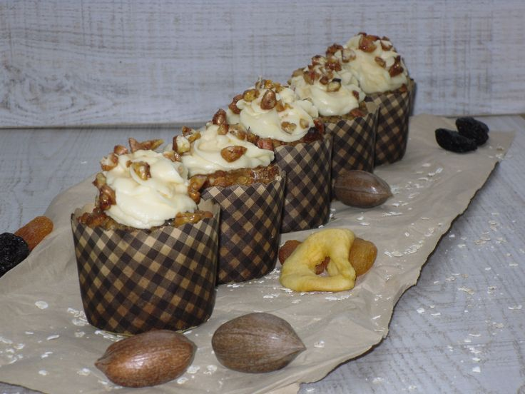 Müsli Muffins mit Honig-Buttercreme