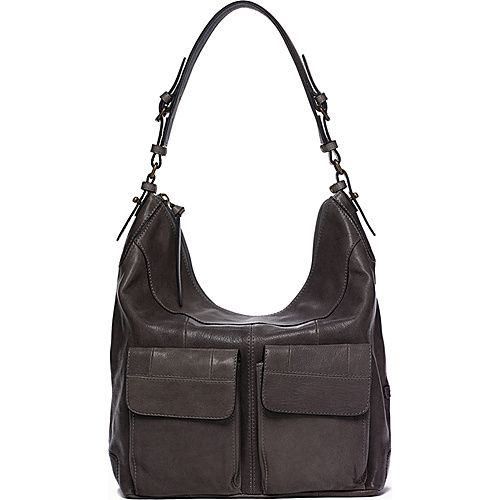 #Handbags, #LeatherHandbags - Ellington Handbags Riley Hobo Graphite - Ellington Handbags Leather Handbags