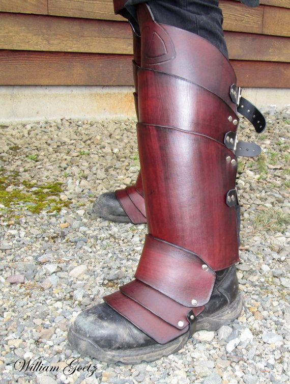 Knight of Northern Blood Full Body Leather by HuntersMoonLeather