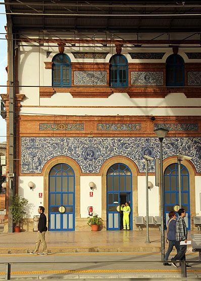 Estación de Jerez de la Frontera, Andalucía, Spain.  http://www.costatropicalevents.com/en/costa-tropical-events/andalusia/welcome.html