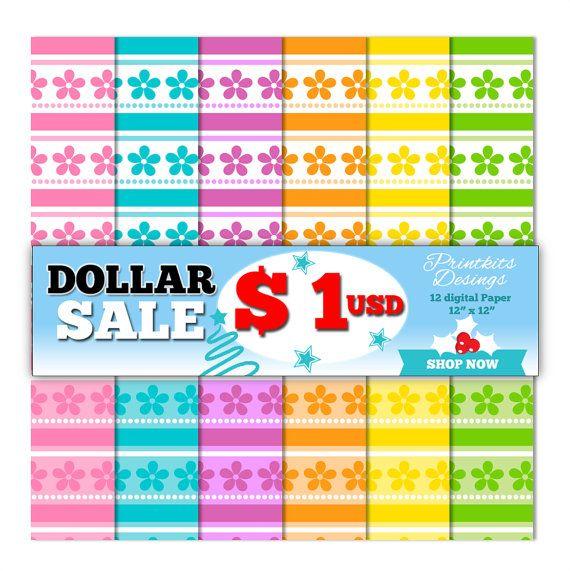Oferta Especial! Compra este artículo a un precio promocional de $ 1.00 USD  ★Mira más artículos aquí: www.etsy.com/shop/PrintkitsDesigns ★  ----------------------------------------------------------------------------------------- Precio Regular: $ 5.00 USD  Este paquete es perfecto para tus manualidades (tarjetas, invitaciones, anuncios, decoupage, álbumes de fotos, collage, etiquetas de candy bar, etc). Se trata de un set de 12 hojas de papel digitales en formato JPG a 300 dpi par...