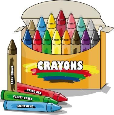 I love these color crayons