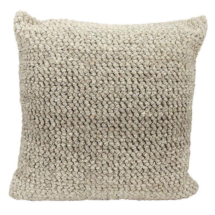 Joseph Abboud Ombre Loop Throw Pillow, Grey
