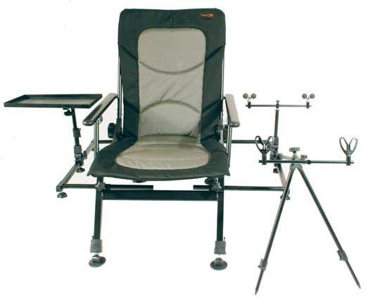 ultimate fishing chair! Want!!