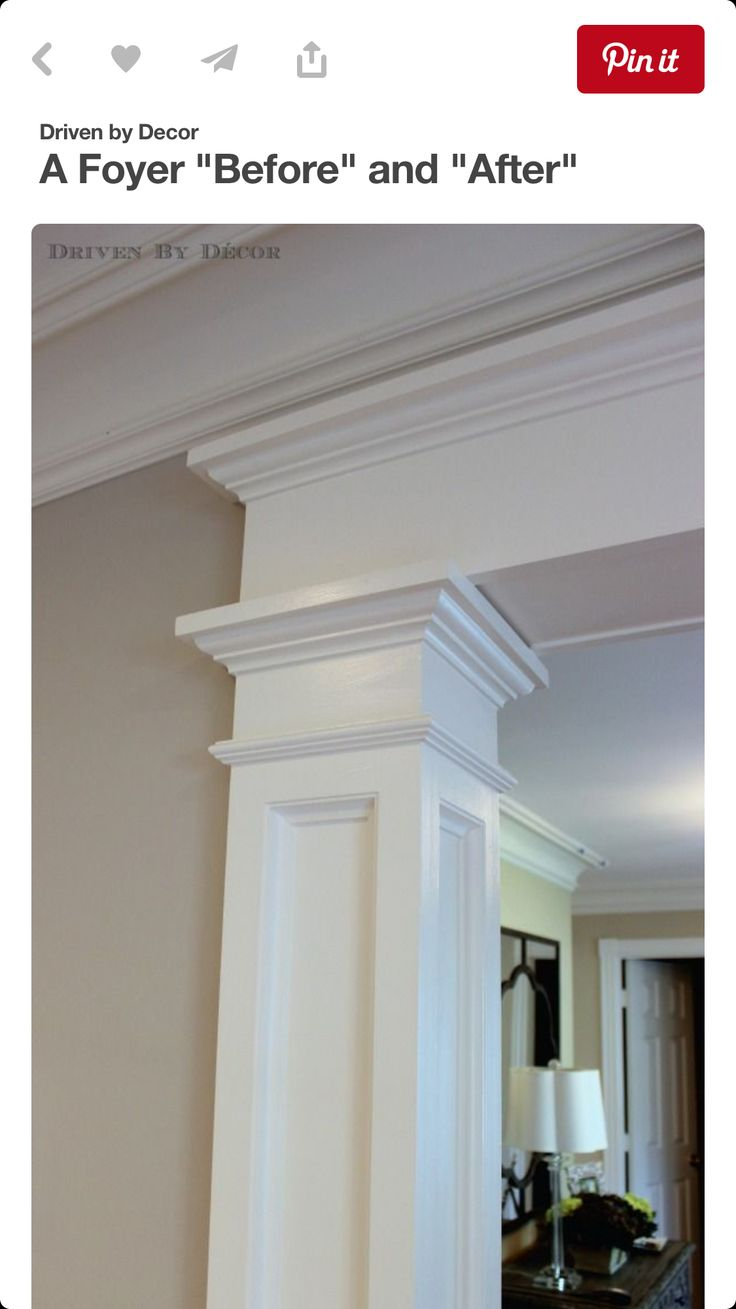 77 best Columns and Trim Work images on Pinterest | Interior ...