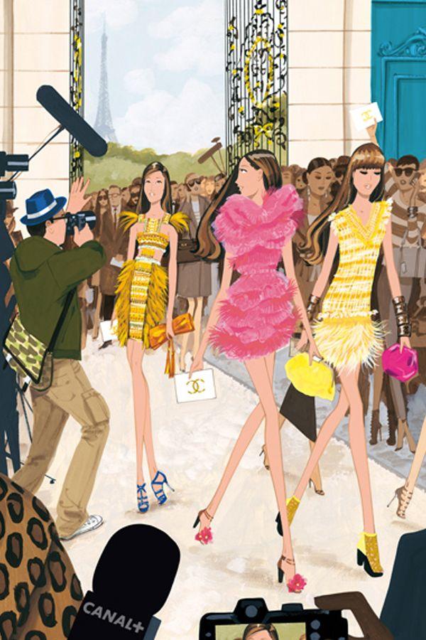 Jordi_Labanda_Fashion_Illustrations for Vogue Nippon