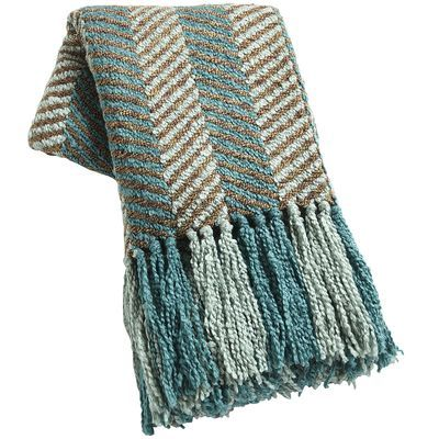 Chenille Chevron Throw.  Love this!  It looks perfect in my bedroom!