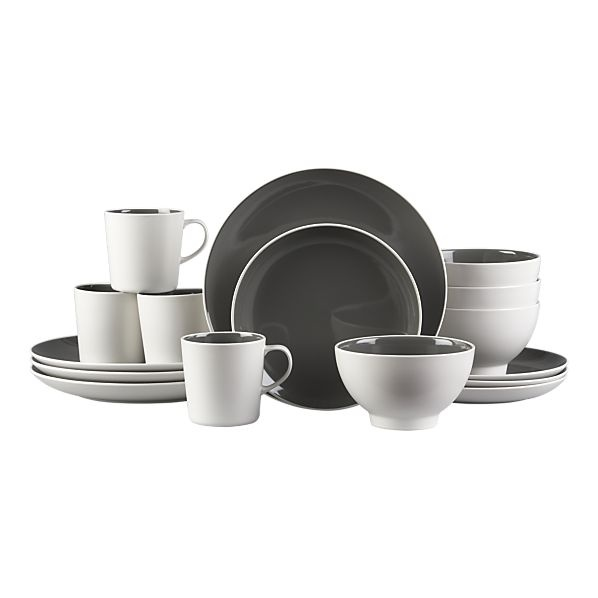Kitchen Dishes Sets: 16 Piece Set On Sale For $65 At Crate & Barrel! #kitchen
