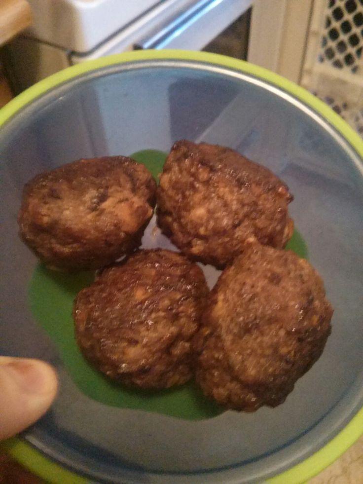 Cheese stuffed meat balls !