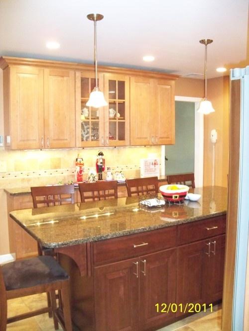 48 best kitchen images on Pinterest | Kitchen ideas, Maple cabinets ...
