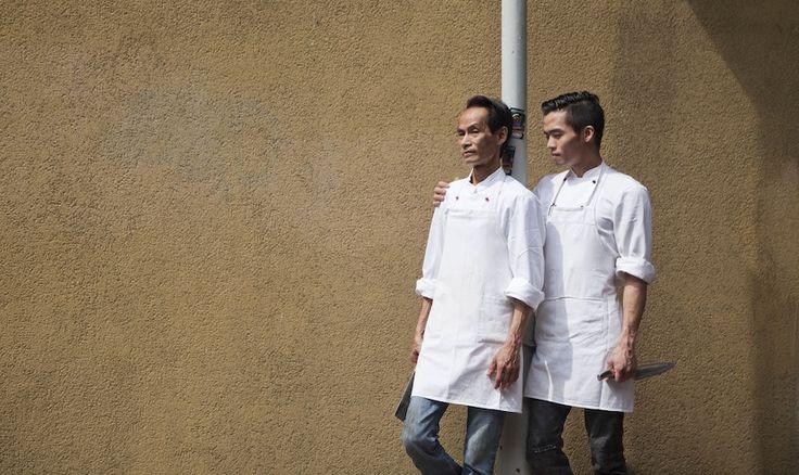 Chef Popo, streng voor zichzelf en voor zoon Kevin