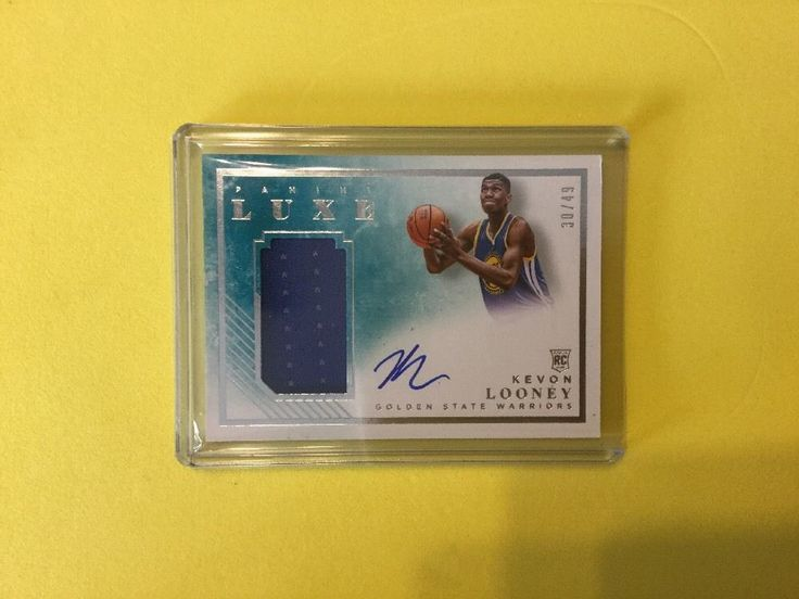 2015/16 Panini Luxe 30/49 KEVON LOONEY RPA #GoldenStateWarriors