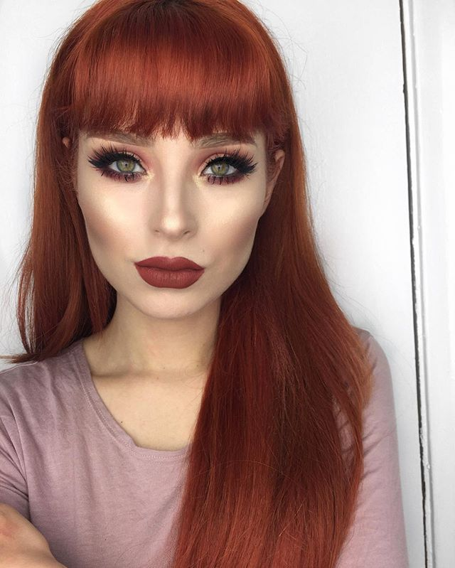 red hair extensions ideas