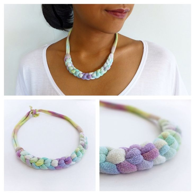 OMBRE BRAID NECKLACE