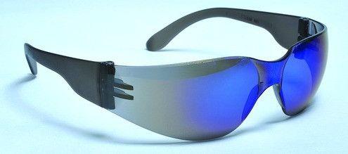 STORM SAFETY GLASSES- BLUE REFLECTIVE