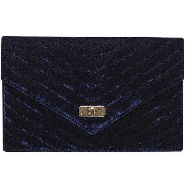 Dorothy Perkins Navy Quilt Twist Lock Clutch Bag ($29) ❤ liked on Polyvore featuring bags, handbags, clutches, blue, navy handbags, dorothy perkins, turnlock handbag, navy blue handbags and navy clutches