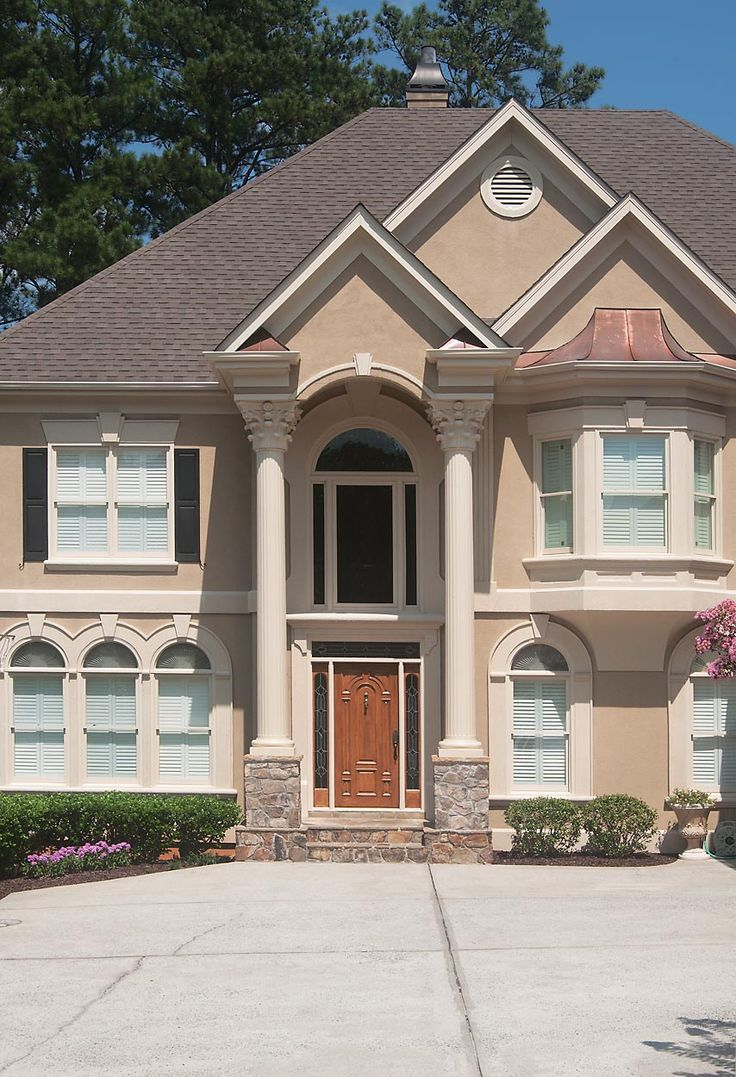 21 best rounded semi circular porticos images on pinterest for Georgia front porch