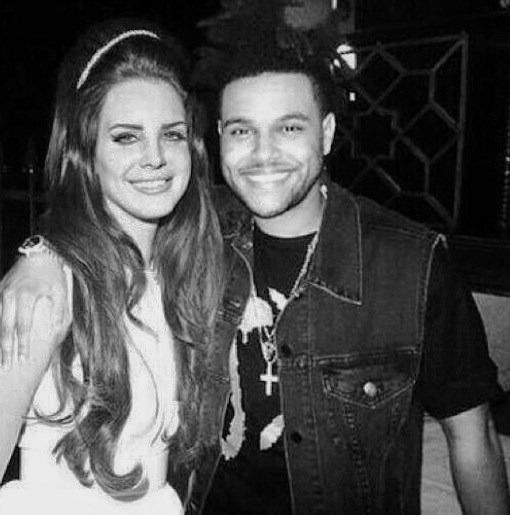 The Weeknd Lana Del Rey Dating