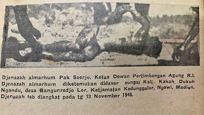 Berita Islam ! Ketua DPA RI pun jadi Korban Keganasan PKI Ini Dia Penampakannya... Bantu Share ! http://ift.tt/2jU5XBP Ketua DPA RI pun jadi Korban Keganasan PKI Ini Dia PenampakannyaTidak sedikit kebiadaban PKI terhadap tentara dan umat Islam di masa 1948 1965 dan 1966. PKI selain memberontak terhadap pemerintahan yang saat itu juga dikenal kejam terhadap masyarakat di luar isme mereka. Mereka sebagaimana informasi yang masih diperdebatkan bahkan menyebutkan bahwa PKI memanfaatkan…
