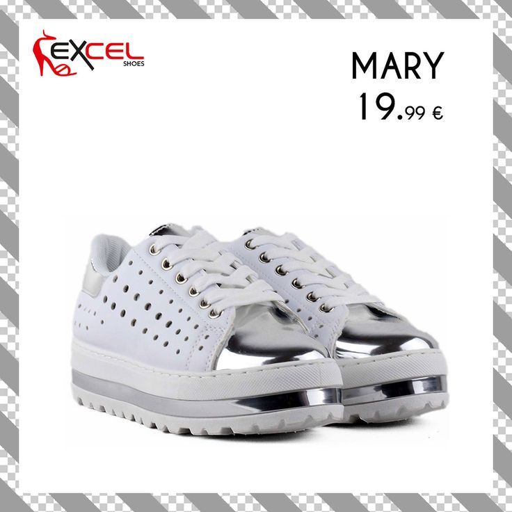 Womens New Arrivals!!! Mary 19,99€ 🚚 Δωρεάν μεταφορικά για Ελλάδα #excelshoes #ss17 #spring #summer #2017 #shoes #women #womenfashion #sneaker #thessaloniki #papoutsia #gunaika #παπουτσια #moda