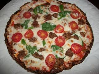 Sandy 39 S Kitchen Cauliflower Pizza Crust Medifast Take Shape For Life Pinterest I