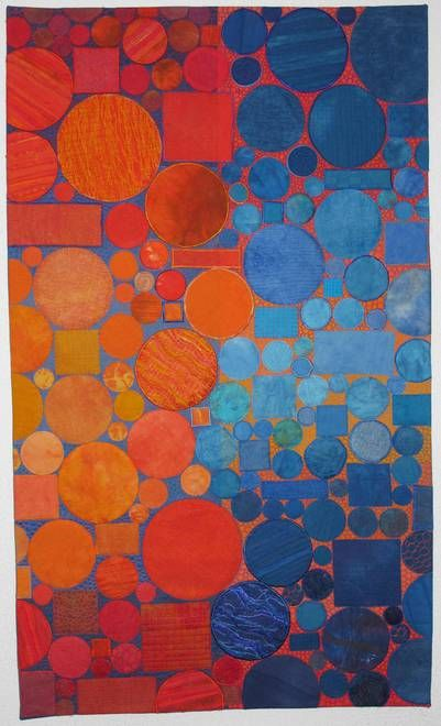 Macro 1 by Cécile Trentini - complementary orange and blue