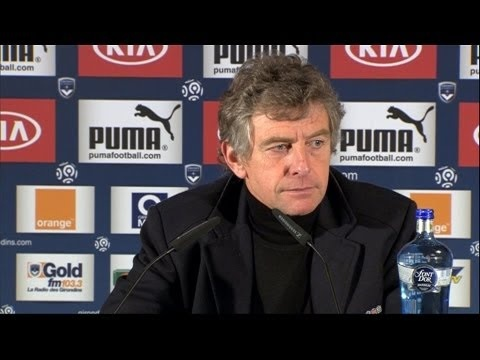 FOOTBALL -  Conférence de presse Girondins de Bordeaux - FC Lorient (1-1) - http://lefootball.fr/conference-de-presse-girondins-de-bordeaux-fc-lorient-1-1/