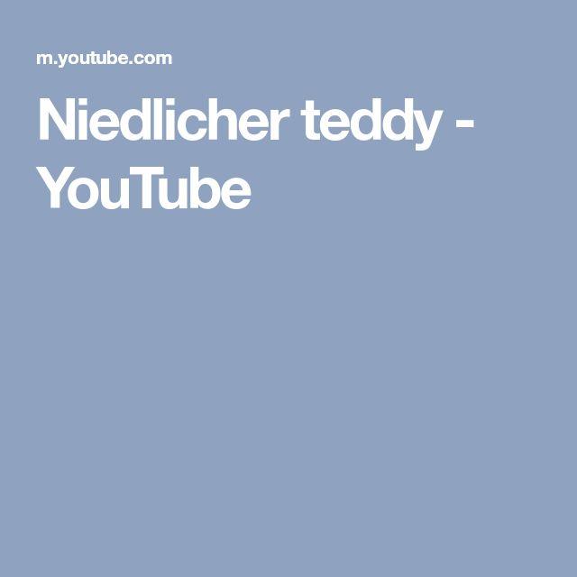Niedlicher teddy - YouTube