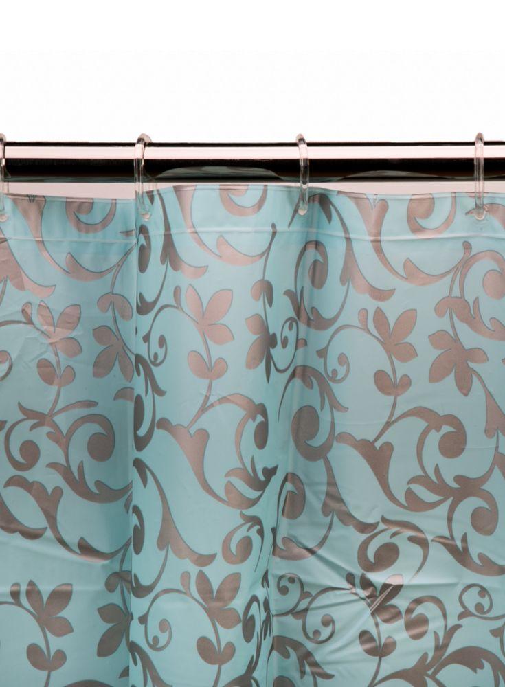 A loja do gato preto cortina arabescos azul - Cortinas el gato preto ...