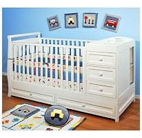 What do you think? Sam's Club...LOVE this crib with the drawers and changing table