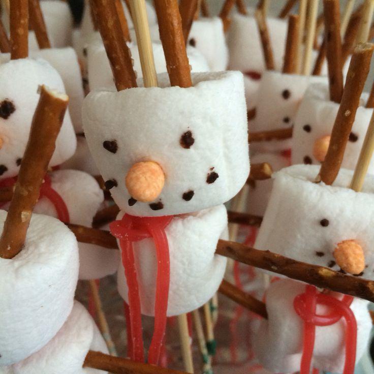 Olaf sneeuwpoppetjes Frozen Olaf Marsmallows