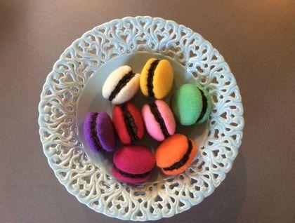Chocolate+Filled+Cookies+-+Felt+Play+Food