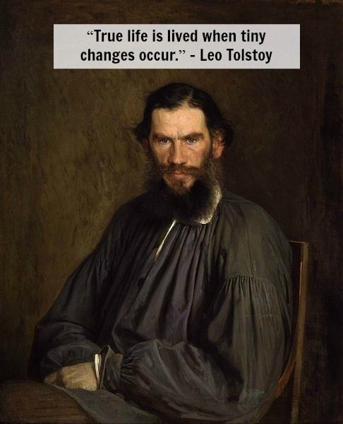 Leo Tolstoy On Change