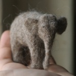wonderful needle-felted animals (with the artist's tips on making your own)