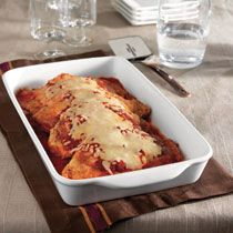 Chicken Parmesan! Cream of Wheat is simply good food for the body & soul! creamofwheat.com #healthy #homecooking #creamofwheat #italian #dinner #cooking #favorite #recipe #food