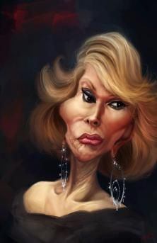 our beloved JOAN RIVERS  by DARAF1