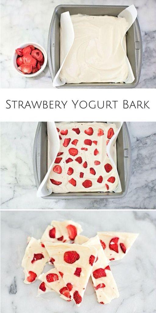 Quieres algo frio, rico y saludable? Facil! Hace esta idea y disfruta con tus amigas esta deliciosa idea saludable!