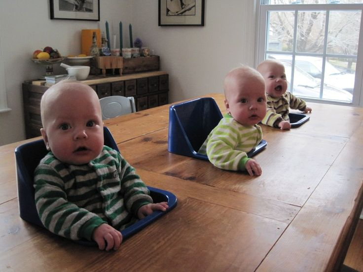 Twin Mountain Buggy Homemade Triplet Highchair Triplet Babies Triplets