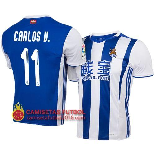 Primera camiseta Carlos Vela Real Sociedad 2016 2017