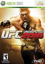 UFC Undisputed 2010  (Xbox 360, 2010)