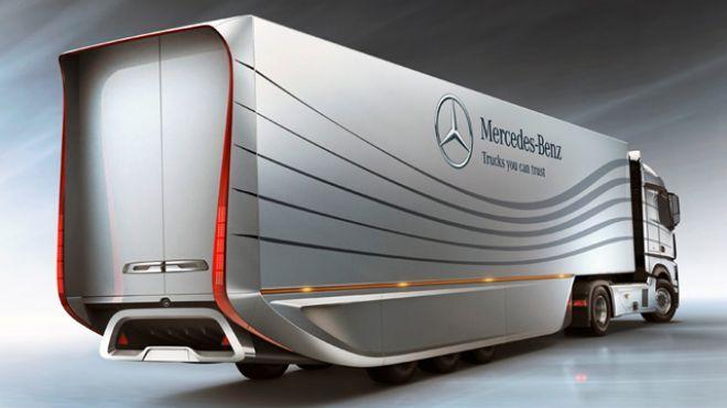 Mercedes-Benz Developing Aerodynamic Big Rig