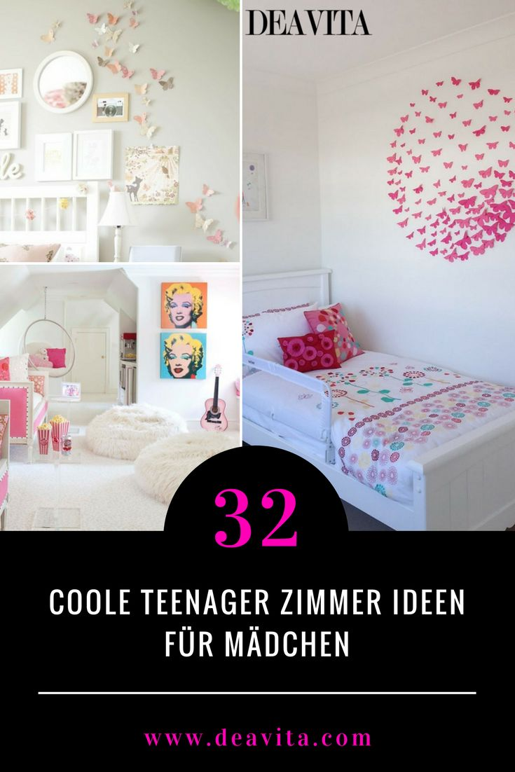 Einigen Teenager Mädchen Gefallen Immer Noch Ein Rosa Oder Lila Schlafzimmer  Mit Großem Himmelbett Und ...