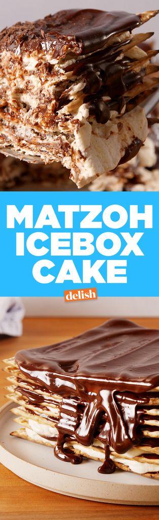 This Chocolatey Matzoh Icebox Cake Wins Passover