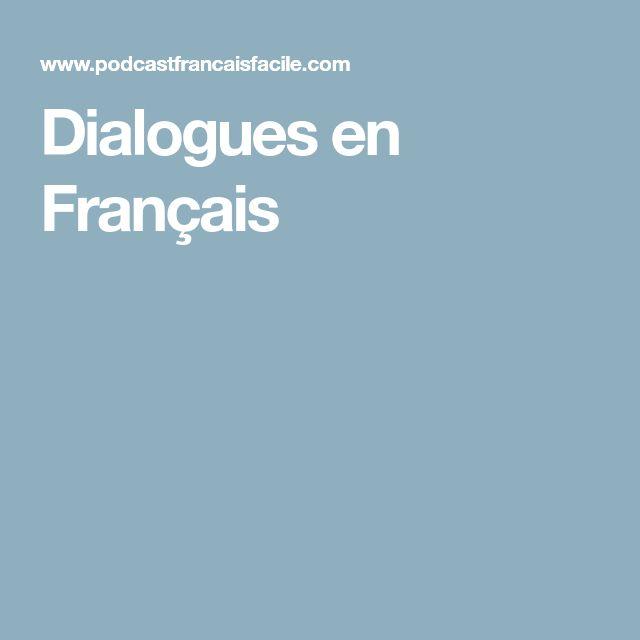 Dialogues en Français