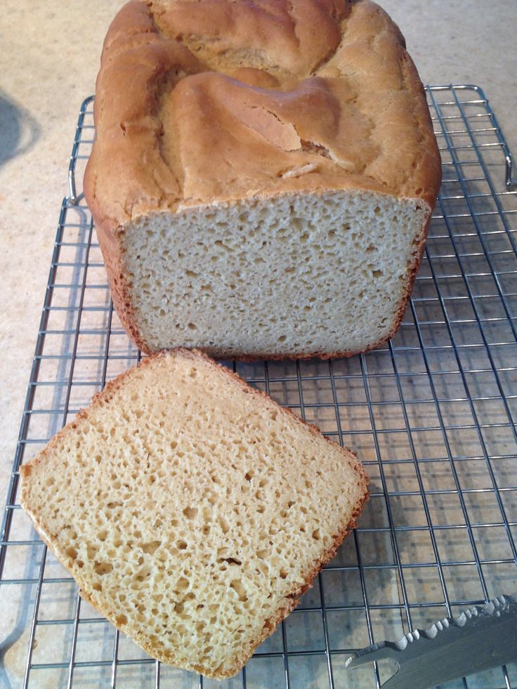 Second try making gluten free bread with A Blend Above All Purpose Flour