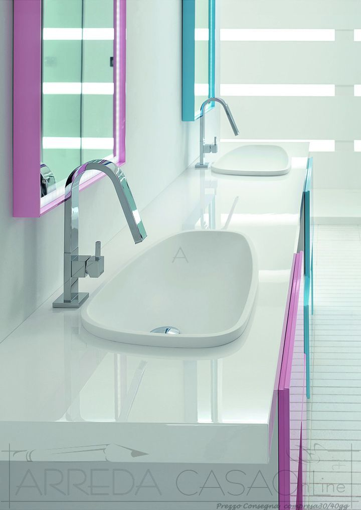 oltre 25 fantastiche idee su arredo bagno rosa su pinterest ... - Arredo Bagno Colore Rosa