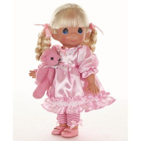 Precious Moments Dolls by The Doll Maker, Linda Rick, Sweet Sadie & Snuggles, 12 inch doll