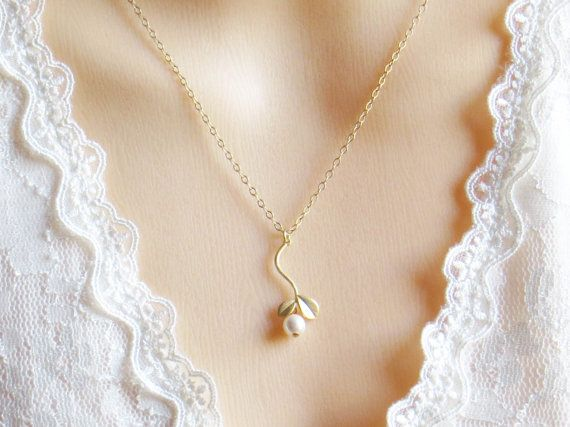Flower Pendant Necklace  Valentines Day by LeCharmeJewelry on Etsy, $22.50