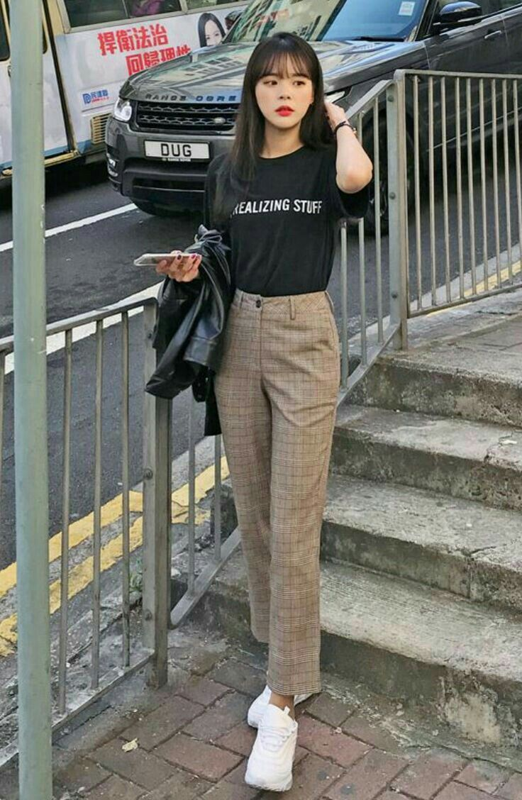 pinterest HamburgerV  Korean street fashion, Korean fashion