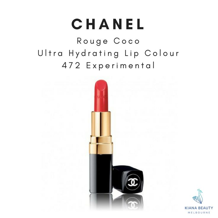 CHANEL Rouge Coco Ultra-Hydrating Lip Colour in 472 Experimental Part of the 2017 Fall-Winter collection. The iconic Chanel lipstick, with all day hydration. Buy online CHANEL lipsticks from Australian stockist with FREE SHIPPING over $50, Afterpay available.